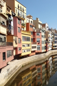 River Onyar at Girona:  August 2011
